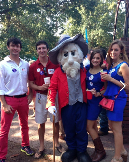 Ole Miss Homecoming at The Grove