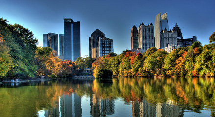 View of the City from Piedmont Park