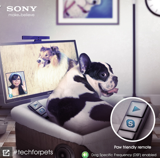 Sony launches the new Animalia line - products designed specially for your pets.