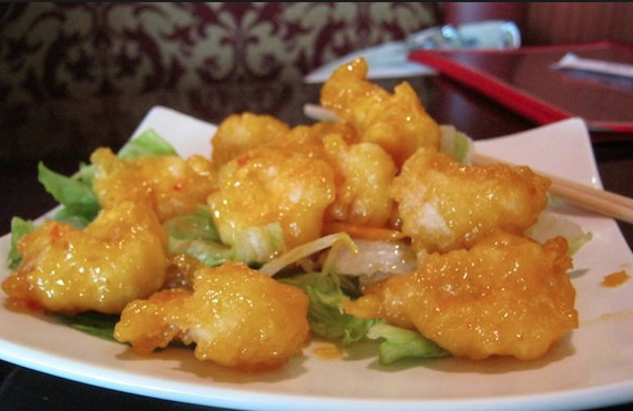 Red Bowl's Spicy Bang Bang Shrimp. photo credit: chapelhillmagazine.com