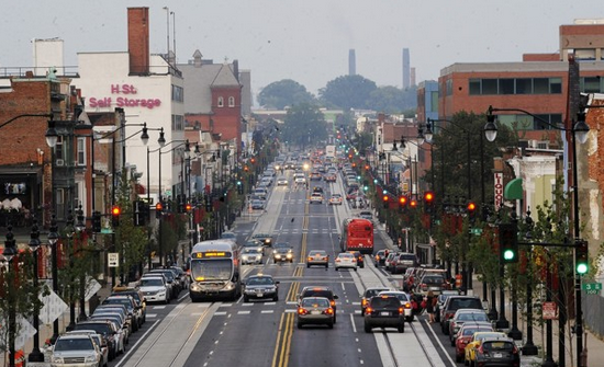 H Street Corridor. photo credit: www.washingtonpost.com